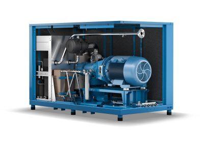 Schraubenkompressoren mit Öleinspritzkühlung